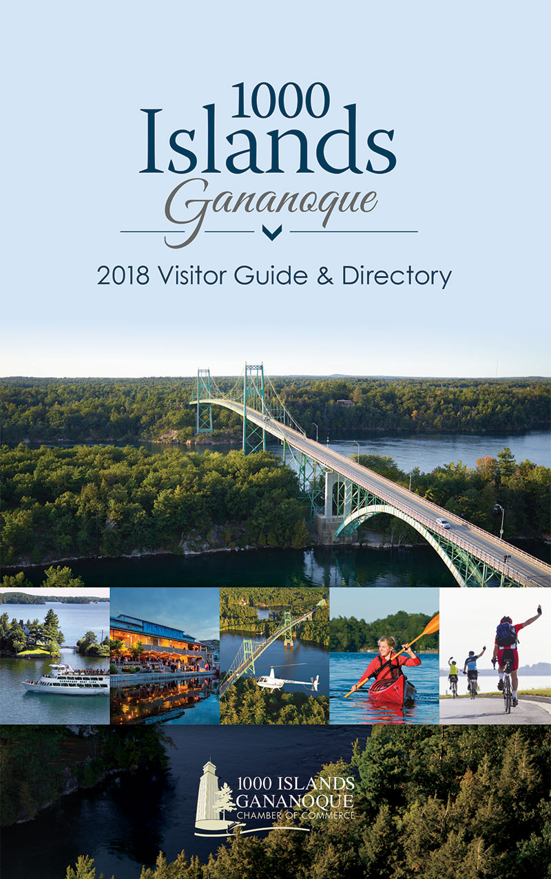 2018 Gananoque Visitor Guide & Directory