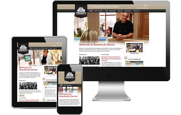 Responsive Website Design Example